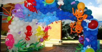 Cursos de decoracion con globos