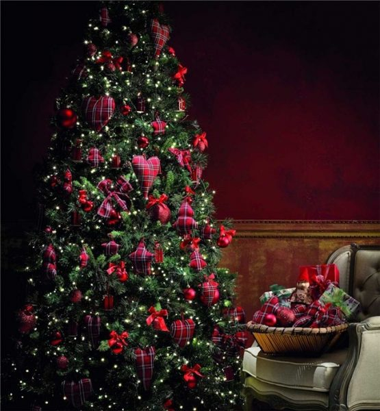 Decoración de arboles de navidad 2011