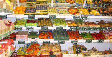 Decoración de fruterías