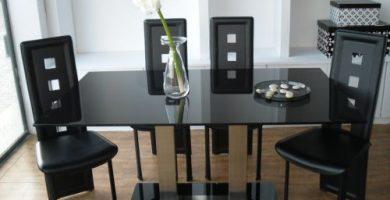 Decoración de mesas de comedor