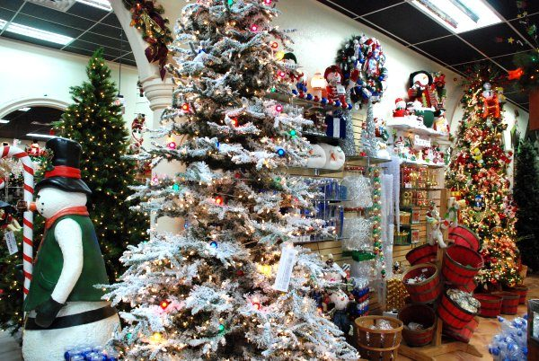 Decoración de navidad tiendas