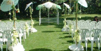 Decoracion de bodas en jardin