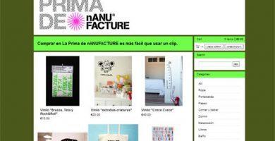 Objetos de decoración online