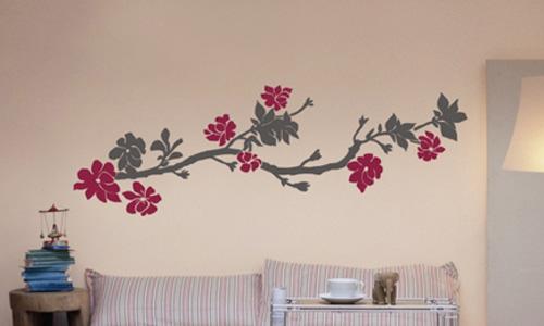 Plantillas de decoración para paredes