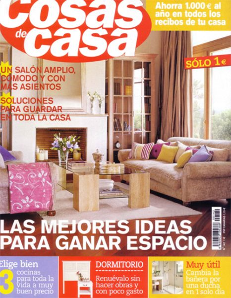 Revista cosas de casa decoración