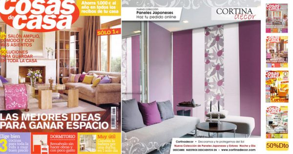 Revista de decoración cosas de casa