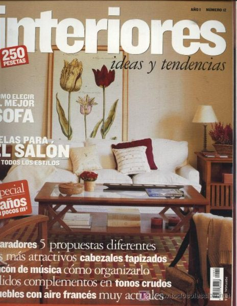 Revista decoración de interiores