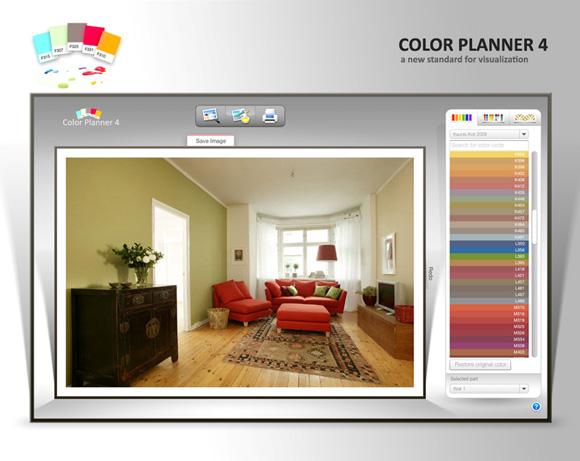 Simulador de decoración de interiores