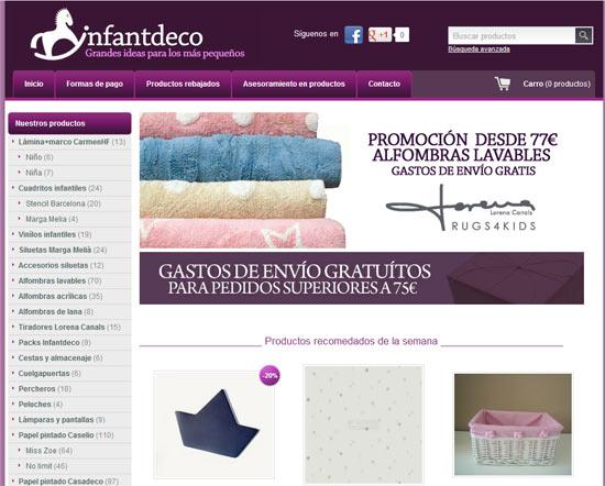 Tiendas online de decoración